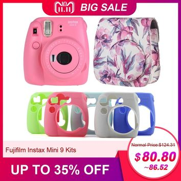 Fujifilm Instax Mini 9 Instant Camera Photo Film Camera  Mini Camera Gift as Good as Hello Kitty Pink / Blue / Greem / White