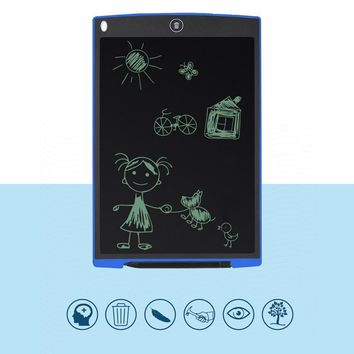 12 Inch Digital drawing tablet Portable Mini LCD Writing Screen Tablet Drawing Board + Stylus Pen graphics pad for kids
