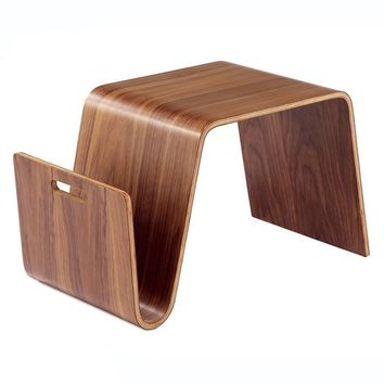 Mid Century Design Modern End Table For Breakfast, Magazine Living Room Furniture - Free Shipping