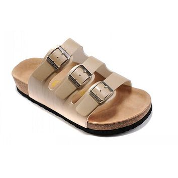 Birkenstock Orlando Sandals Artificial Leather Bisque - Ready Stock