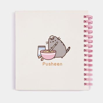 Baker Pusheen notebook