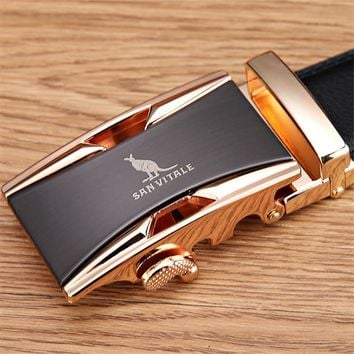 Genuine Luxury Leather Men's Belts