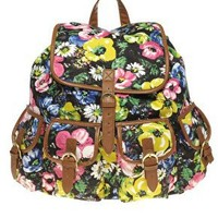 ASOS | ASOS Floral Print Backpack at ASOS