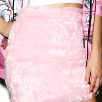O Mighty Furbae Skirt Pink