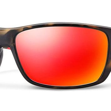 Smith - Forge Matte Camo Sunglasses / Carbonic Polarized Red Mirror Lenses