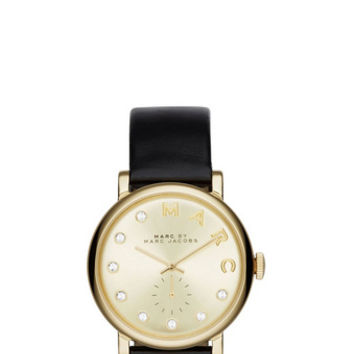 Marc Jacobs - Leather Baker Dexter Strap 36MM