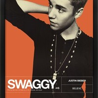 Justin Bieber - Swaggy Poster.