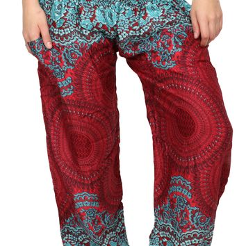 Fire & Ice Honey Hive Harem Pants