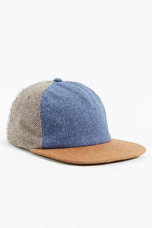 ca6d4ee6a7b0f Rosin Blocked Fabric Strapback Hat from Urban Outfitters