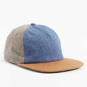 Rosin Blocked Fabric Strapback Hat