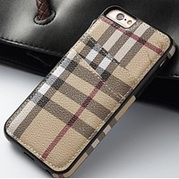 GUCCI Leather Card Phone Case Apple 6 7 PULS Card Case All-inclusive drop-proof shell