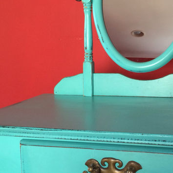 Vintage French Style Desk / Vanity - SOLD!!!