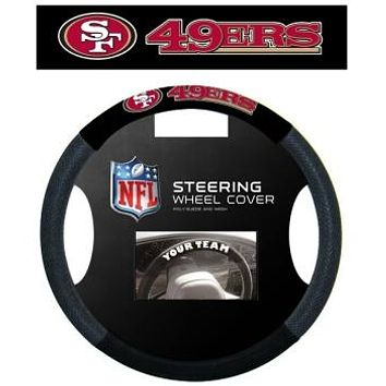 San Francisco 49ers Steering Wheel Cover Mesh