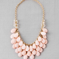 TEARDROP NECKLACE IN PINK