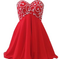 Houseofamychen Womens Short Prom Dresses