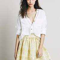 Misile for Free People Womens Catching Comets Fit n Flare - Champagne