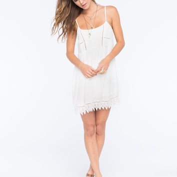 SOCIALITE Lace Trim Dress | Short Dresses