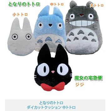 3D Anime Manga My Neighbor TOTORO Kiki's Delivery Service Pillow Cushion Doll Decorative Pillows