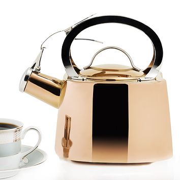 DuraCopper®  Whistling Tea Kettle by Old Dutch International