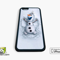Disney Frozen olaf iPhone Case 4, 4s, 5, 5s, 5c, 6 and 6 plus by Avallen