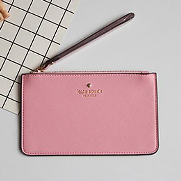 Kate Spade Practical Joker 2017 female new Macaron color card package tide package Pink