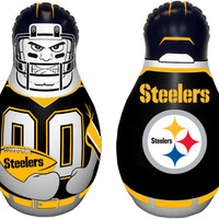 Pittsburgh Steelers Tackle Buddy Punching Bag - New