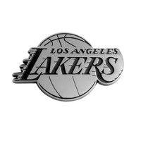 Los Angeles Lakers NBA Chrome Car Emblem (2.3in x 3.7in)