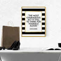 COCO CHANEL ART Chanel Quote Coco Chanel Poster Chanel Wall Art Chanel Printable Fashion Quote Fashionista Coco Chanel Print Girl Room Decor