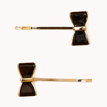 Bow Hair Pin Set | FOREVER 21 - 1078262635