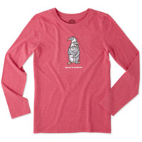 Women's Penguin Family Long Sleeve Cool Tee