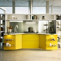 Fitted kitchen SKYLINE 2.0 Skyline Collection by Snaidero | design Lucci Orlandini Design
