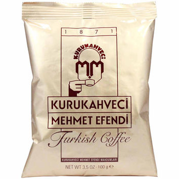 Turkish Coffee by Kurukahveci Mehmet Efendi 3.5 oz