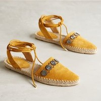 Belle by Sigerson Morrison Maia Espadrilles Yellow