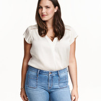 H&M H&M+ Satin Blouse $24.99