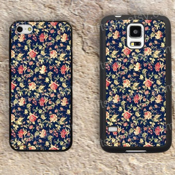 Flower case small flowers  iphone 4 4s iphone  5 5s iphone 5c case samsung galaxy s3 s4 case s5 galaxy note2 note3 case cover skin 146
