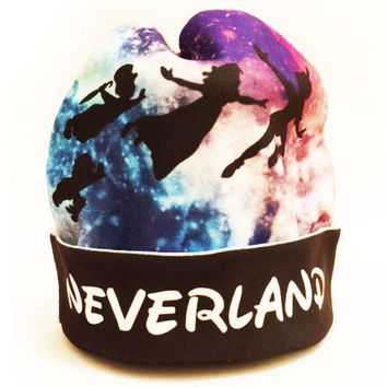 Galaxy Peter Pan Beanie | Disney Galaxy Print Hat