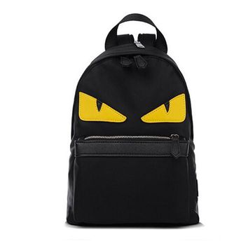 hot! Popular Unisex Women Men backpacks school bags eyes one shoulder backpacks mochilas image satchels bust bag nylon
