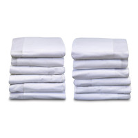 Foundations SleepFresh Crib Cover 12 Pack White - 6901127