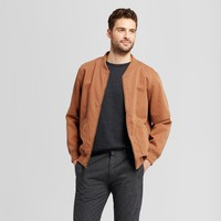 Men's Standard Fit Vintage Bomber Jacket - Goodfellow & Co™ Brown M
