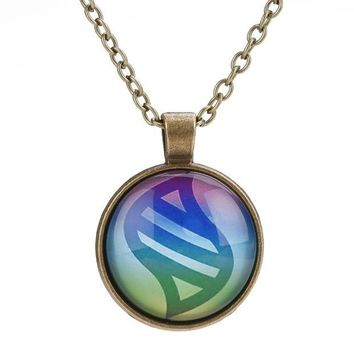 ca DCCKTM4 Shiny New Arrival Jewelry Gift Stylish Anime With Pocket Alloy Pets Gemstone Necklace [8026134663]