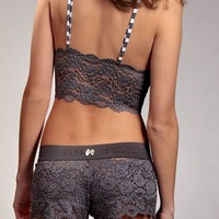 FOXERS - Grey Lace Camisole