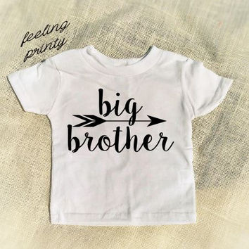 Big Brother Shirt Sibling Shirt New Brother Pregnancy Announcement Baby Gift