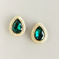Jaipur Emerald Earrings