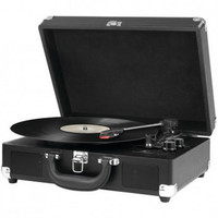 INNOVATIVE TECHNOLOGY ITVS-550BT BK Bluetooth(R) Suitcase Turntable (Black)