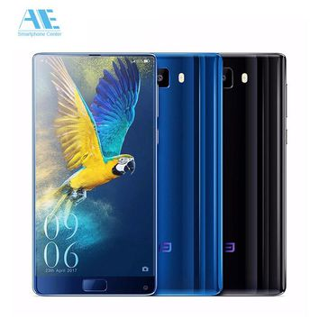 Elephone S8 MT6797T Deca Core Helio X25 Smart phone 4GB RAM 64G ROM 1440*2560P 6.0 Inch Android 7.1 Fingerprint Mobile phone