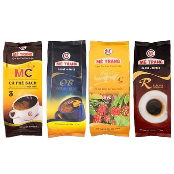 Me Trang Coffee 500 Grams Vietnamese coffee Robusta, Weasel, Blue Ocean, or MC Clean