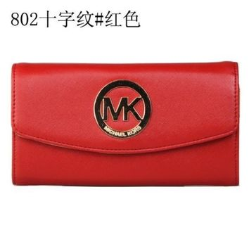 MICHAEL KOR PURSE WOMENS WALLET MK HANDBAG BAG 5 COLOR