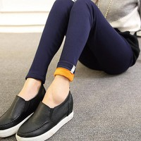 Maternity Pants Elastic Waist Pants for Pregnancy Clothes Winter New Arrival Fashion Maternity Velvet Thicken Solid Pencil Pant