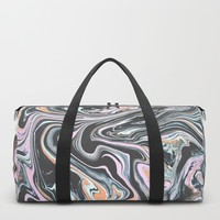 Have a little Swirl Duffle Bag by duckyb