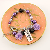 crohn's disease bracelet, crohns charms, crohns awareness, crohns gifts